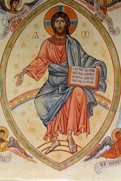 Jesus Second Coming Icon. Gibraltar Catholic Youth.
