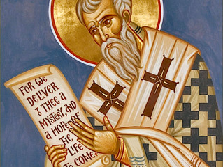 2nd January: Saint Gregory Nazianzen
