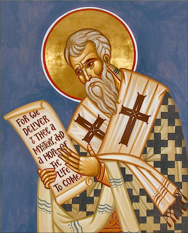 Saint Gregory Nazianzen Nazianzus. St Gregory. Gibraltar Catholic Youth.