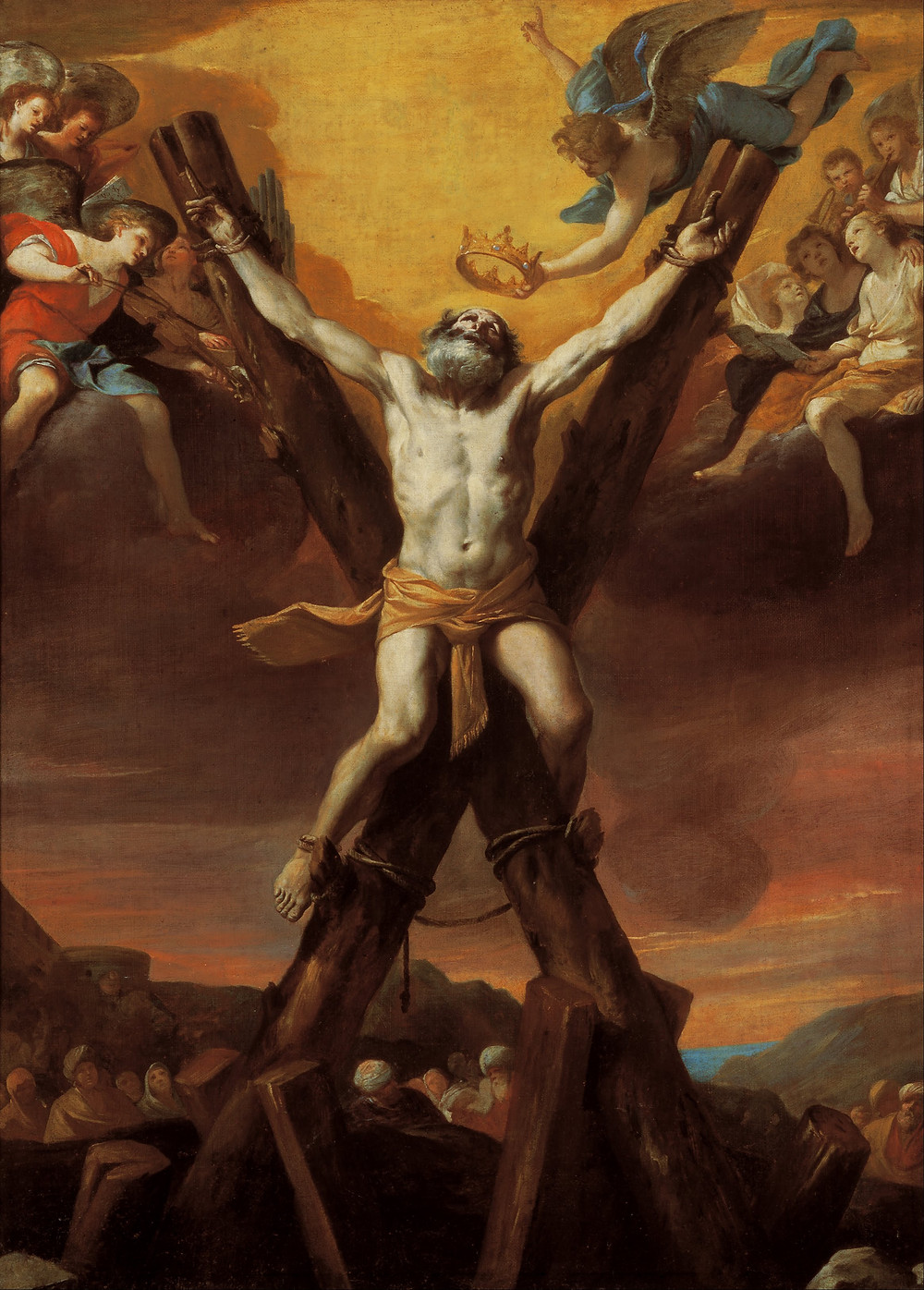 St Andrew the Apostle. Saint Andrew the Apostle. Gibraltar Catholic Youth.