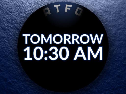 Breaking News: Logo Drops Tomorrow (12/6) at 10:30 AM
