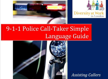 9-1-1 Call Taker Simple Language Guide