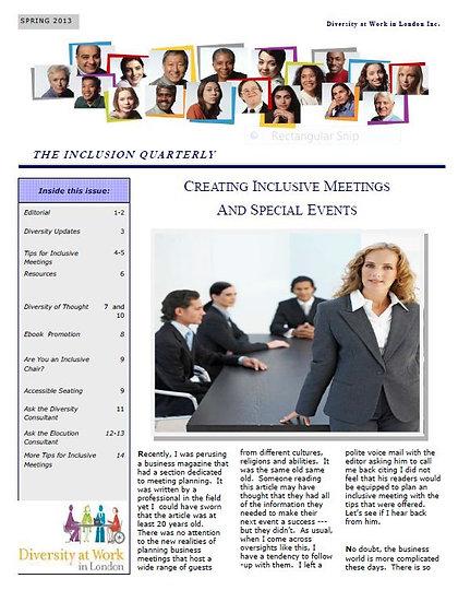 Inclusive Meetings