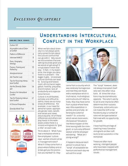 Intercultural Conflict