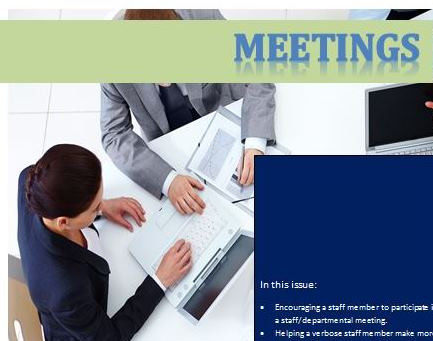 Meetings: A Tool Kit – New Immigrant Workplace Success Series