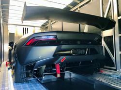 Lamborghini Huracàn Super Trofeo grau
