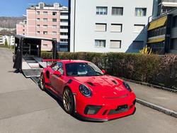Porsche 911 GT3 RS rot
