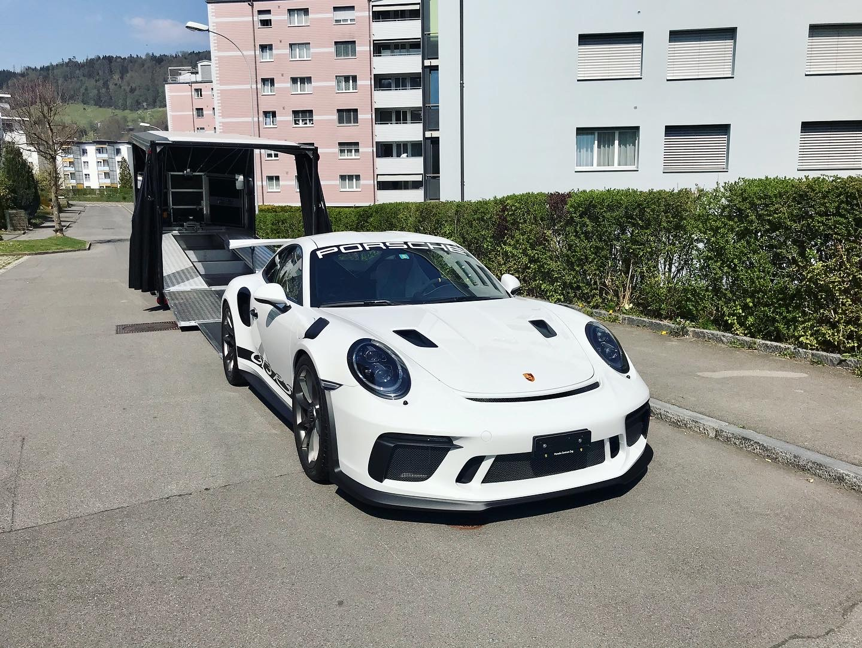 Porsche 911 GT3 RS weiss