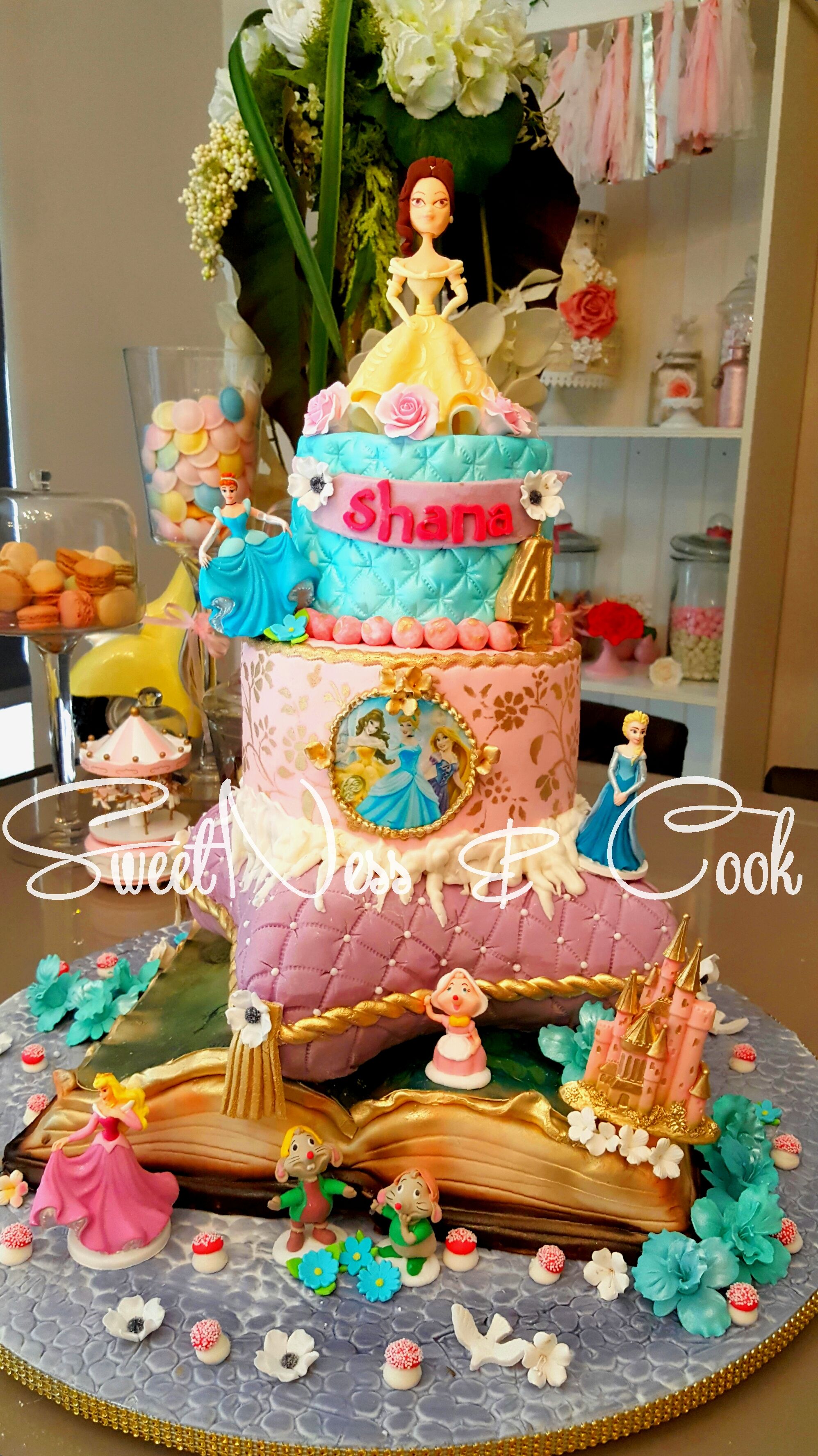 Cake Design Princesses Disney