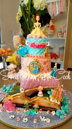 Cake Design Princesses Disney