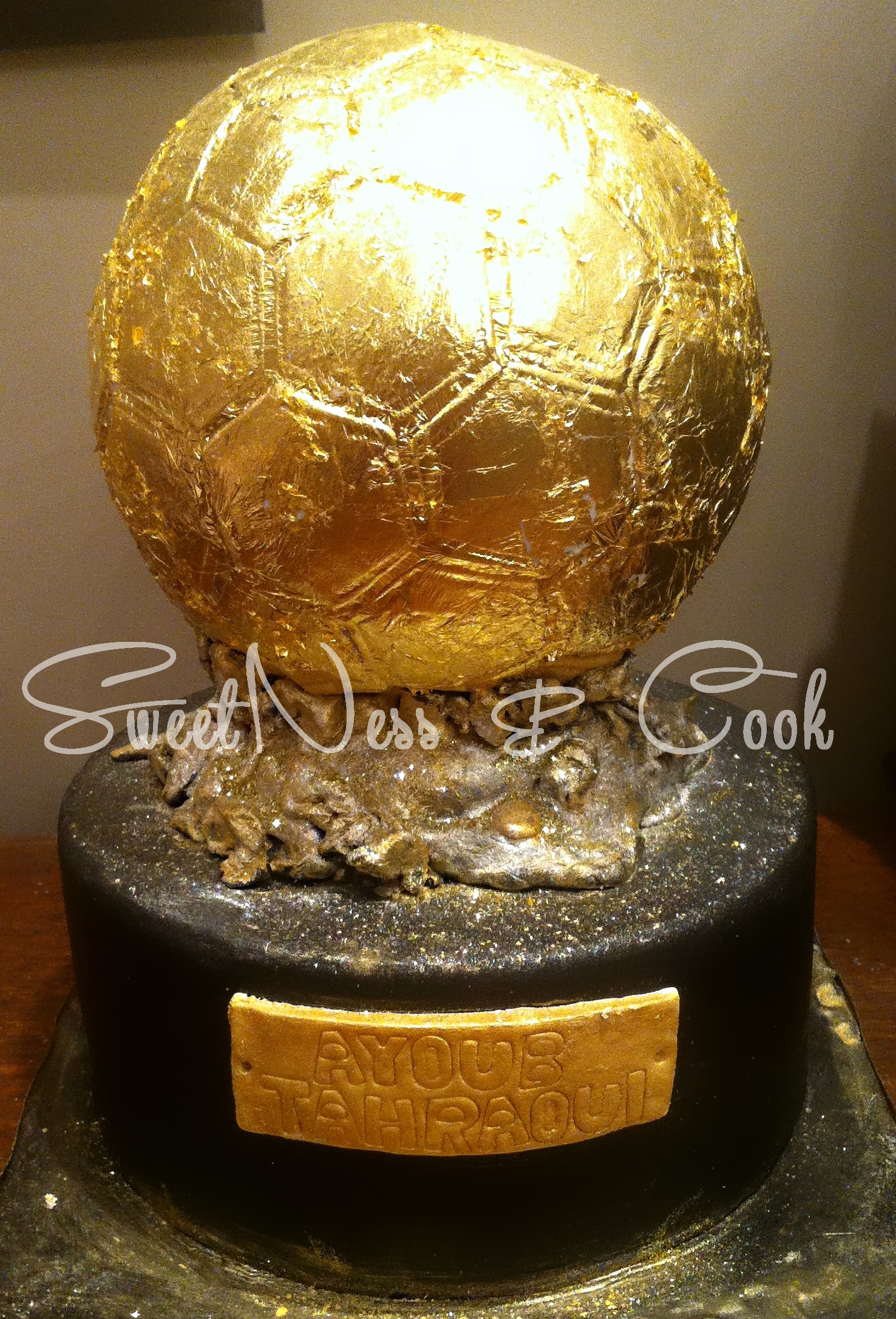 Cake Design Ballon d'or