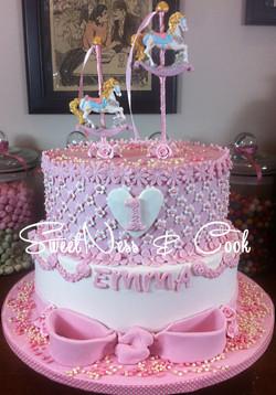 Cake Design Girly & Carrousel