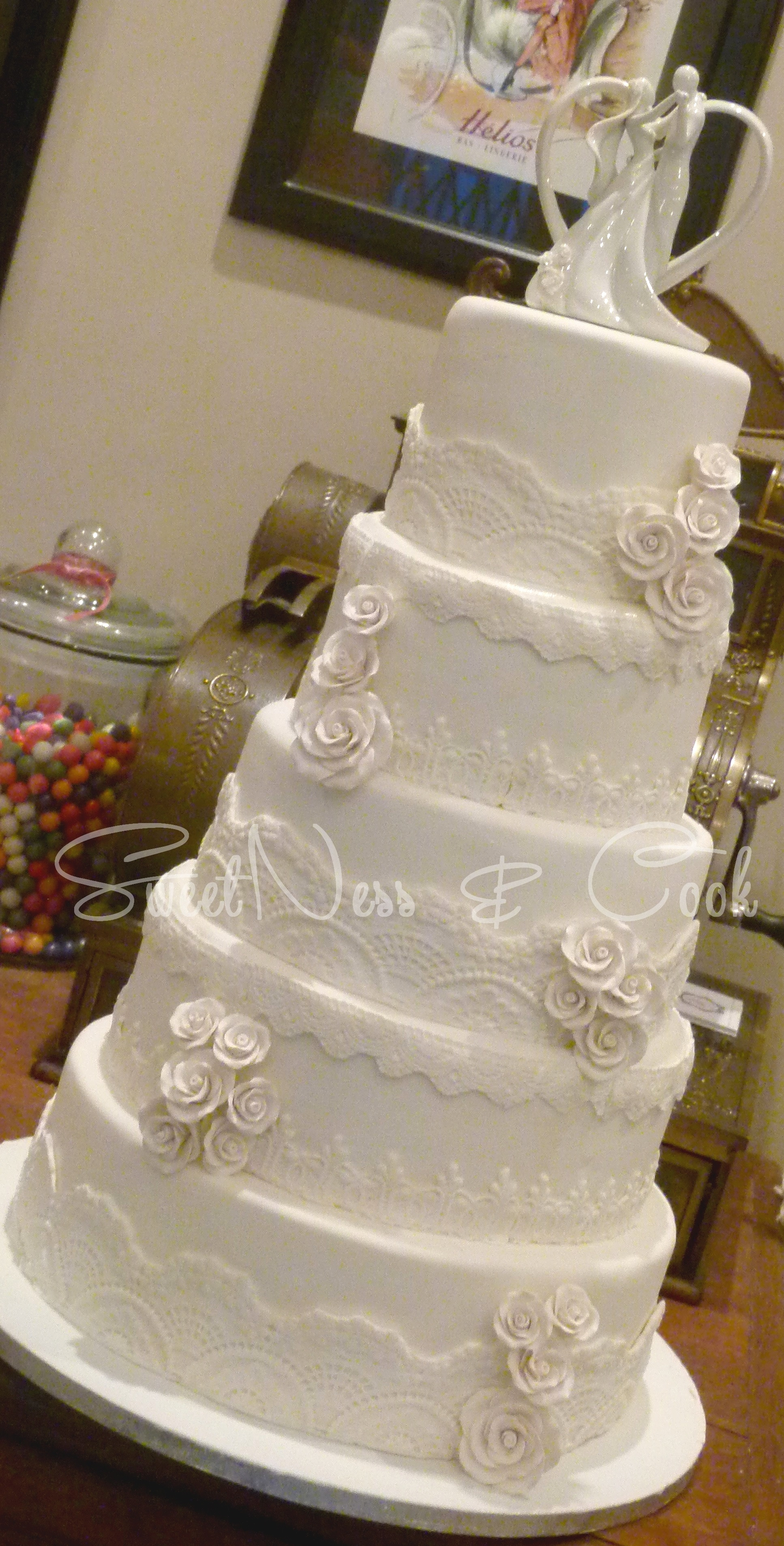 Wedding Cake tradition dentelle