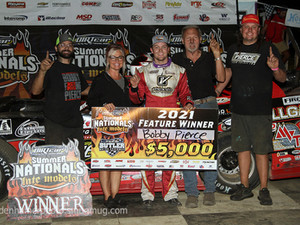 Pierce Goes Flag to Flag at Butler for Hell Tour Win