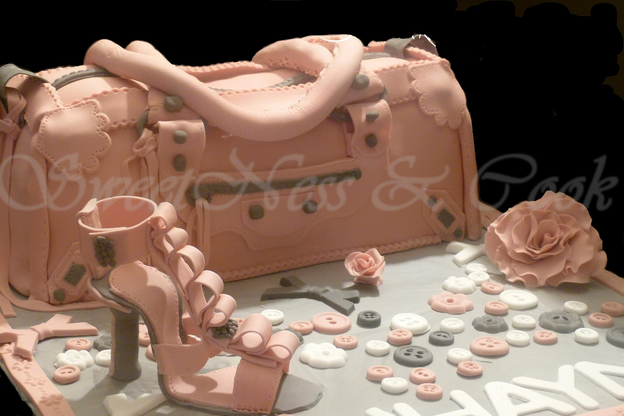 Cake Design Fashionista