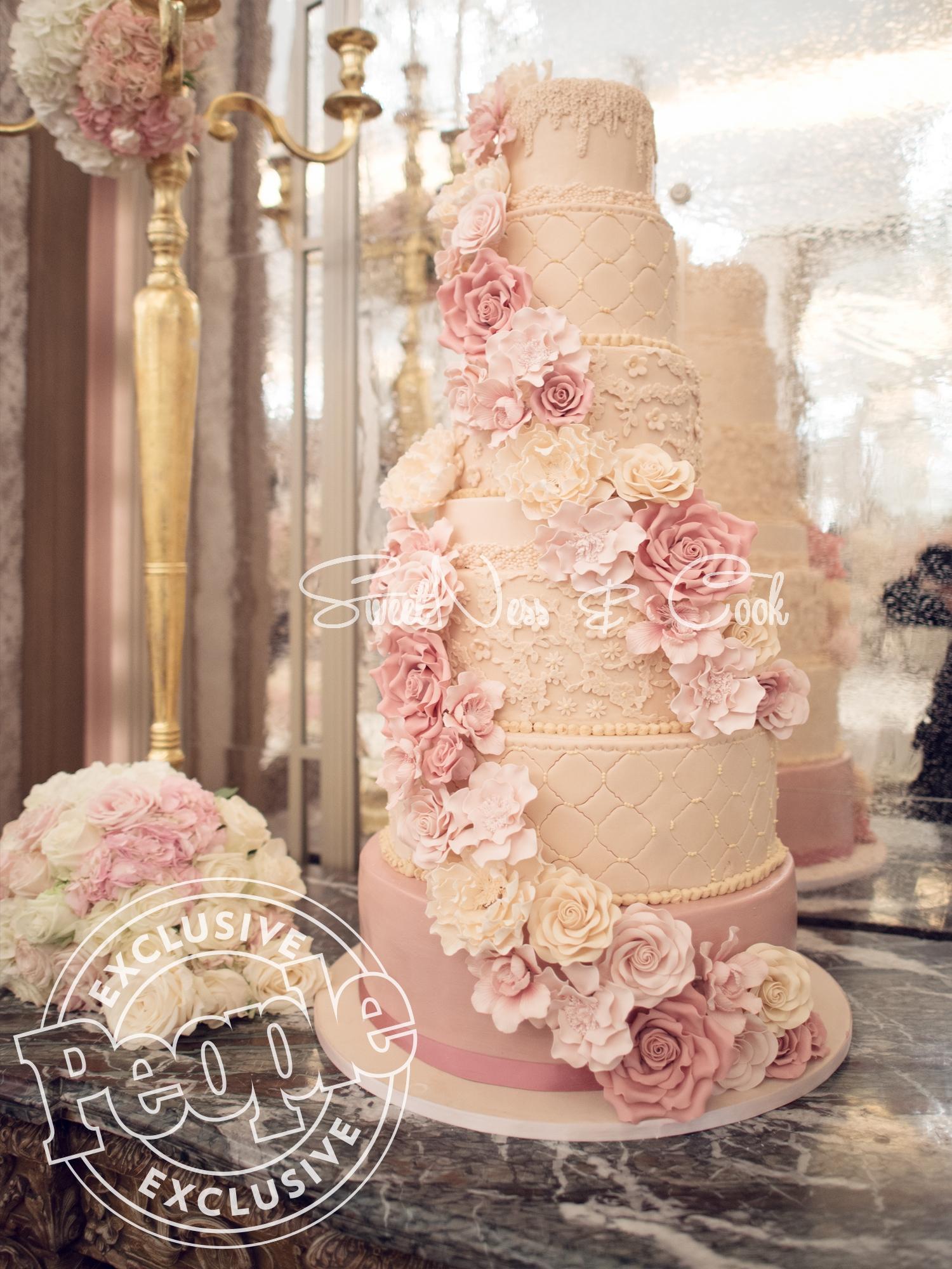 Wedding Cake Plaza Athénée