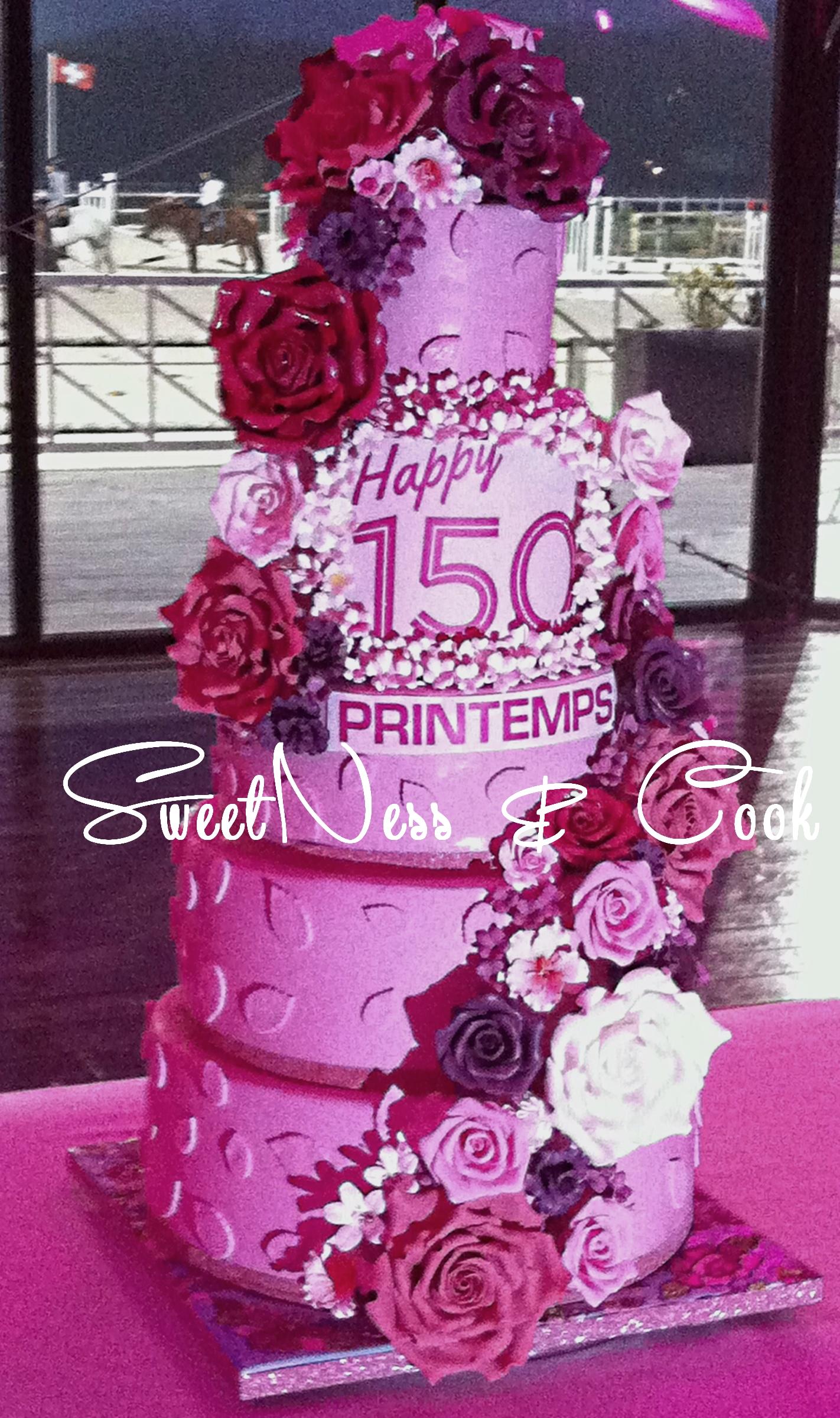 Wedding Cake Le Printemps