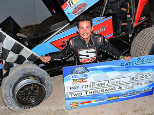 Ruhl Hangs on for Another Tri City Win