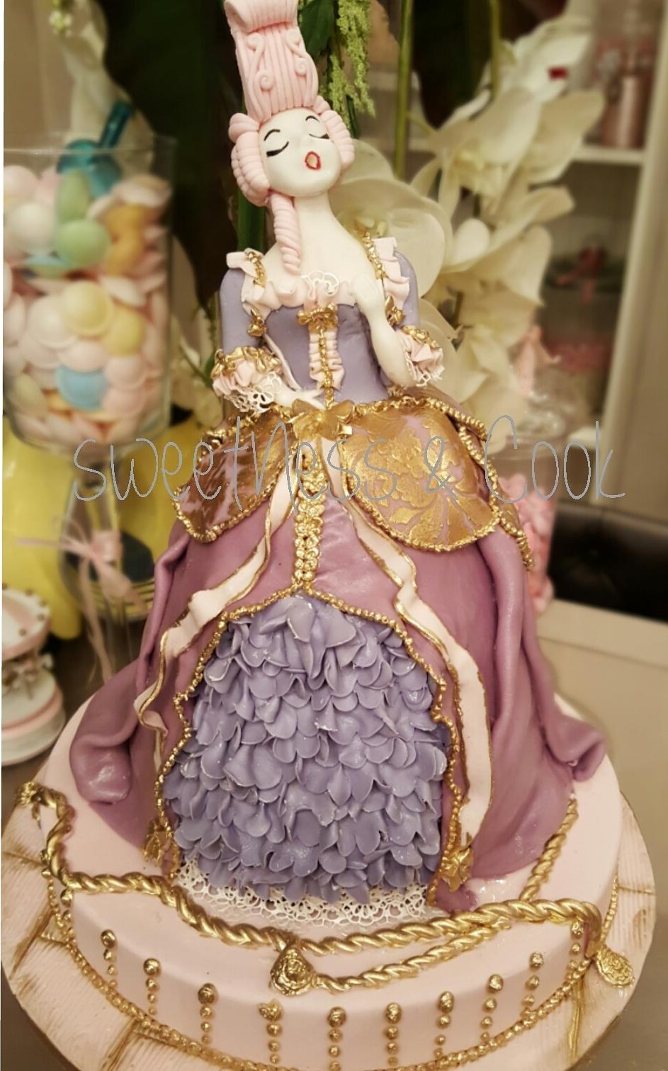 Cake Design Marie-Antoinette