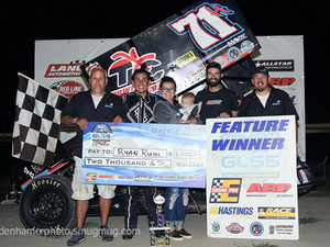 Ruhl Holds on for Win at Hartford