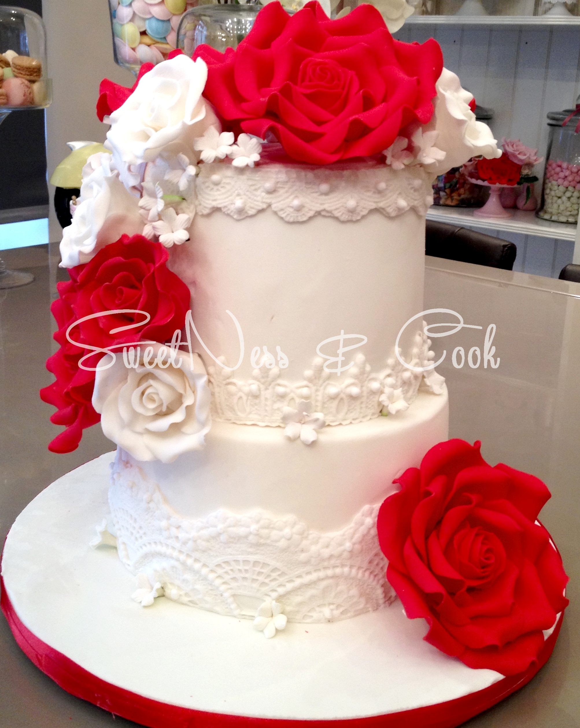 Wedding Cake Biarritz
