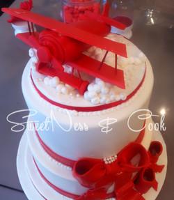 Wedding Cake Avion Biplan