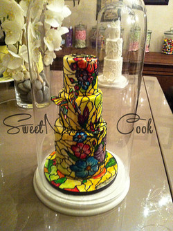 Wedding Cake vitrail