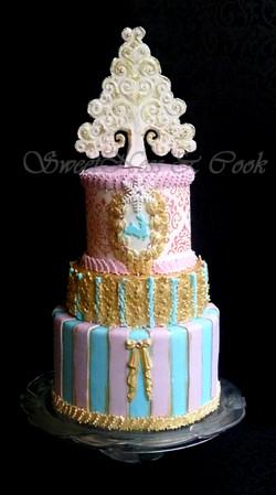 Gâteau Noël féerie