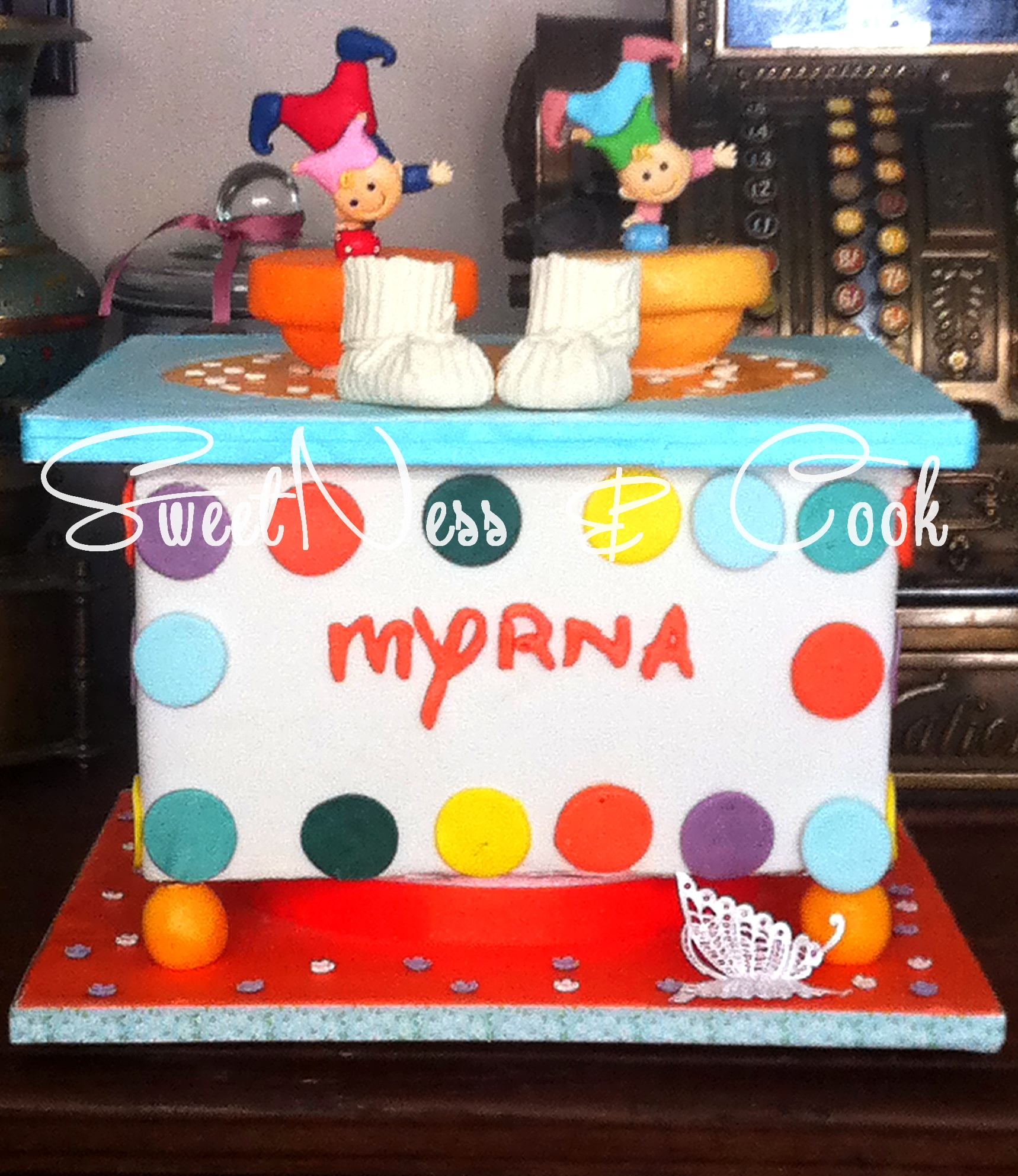 Cake Design boîte à musique