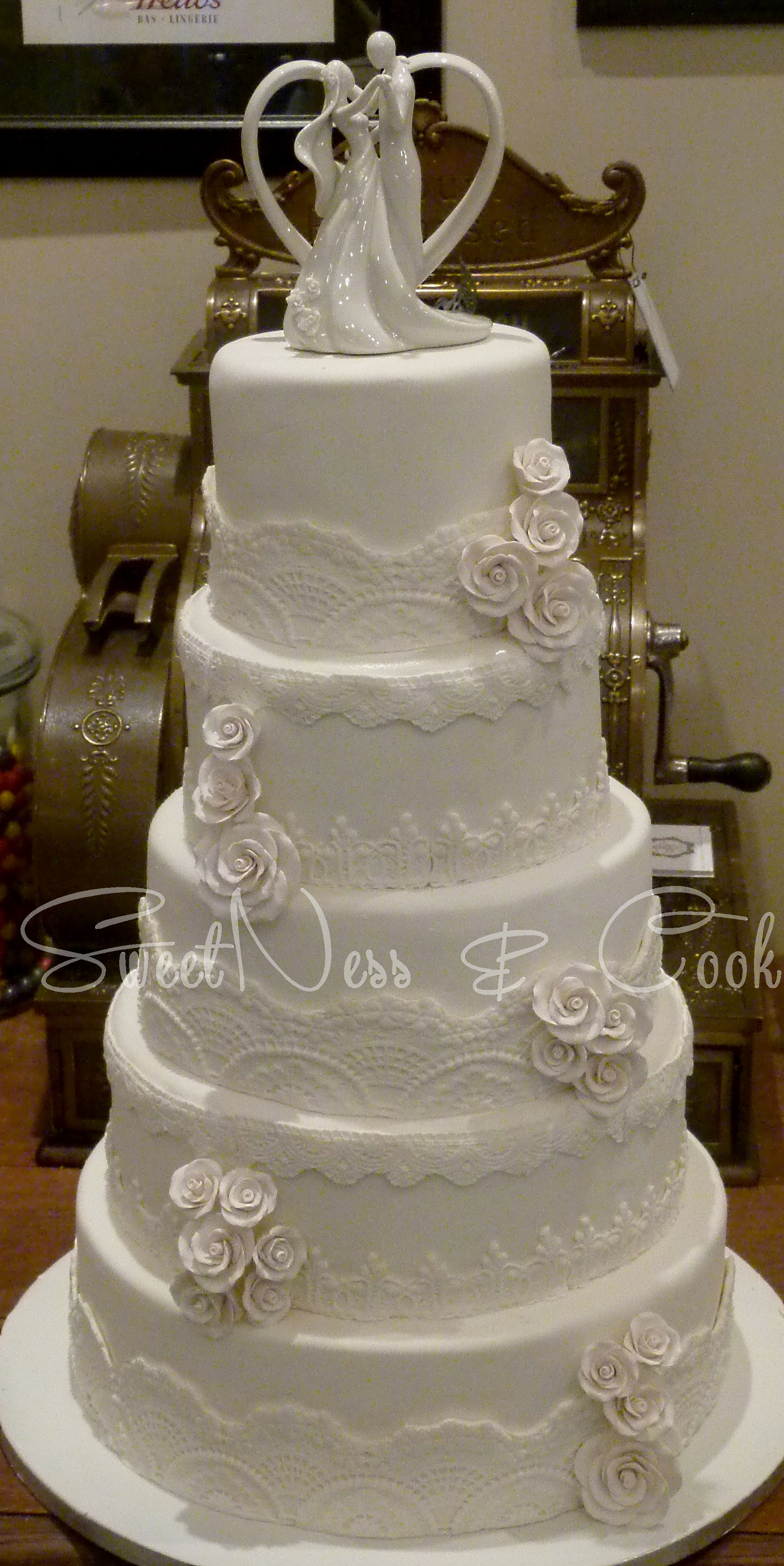 Wedding Cake tradition dentelle