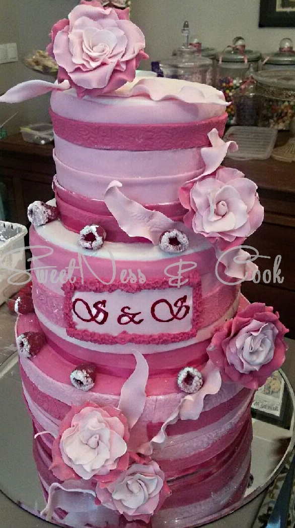 Wedding Cake douceur framboise
