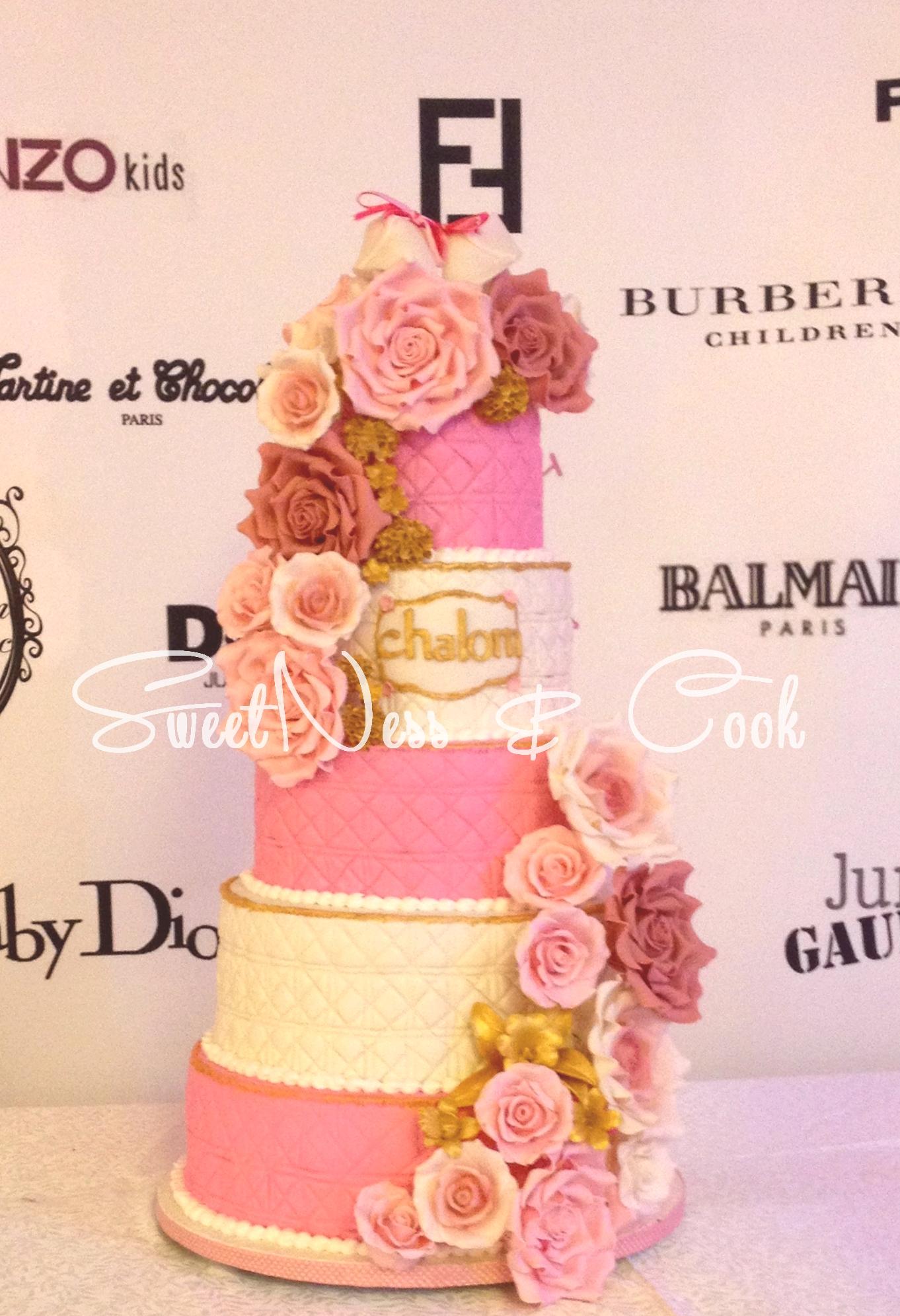 Wedding Cake Baby Dior