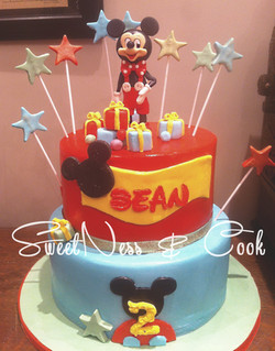 Cake Design Mickey