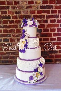 Wedding Cake violet parme