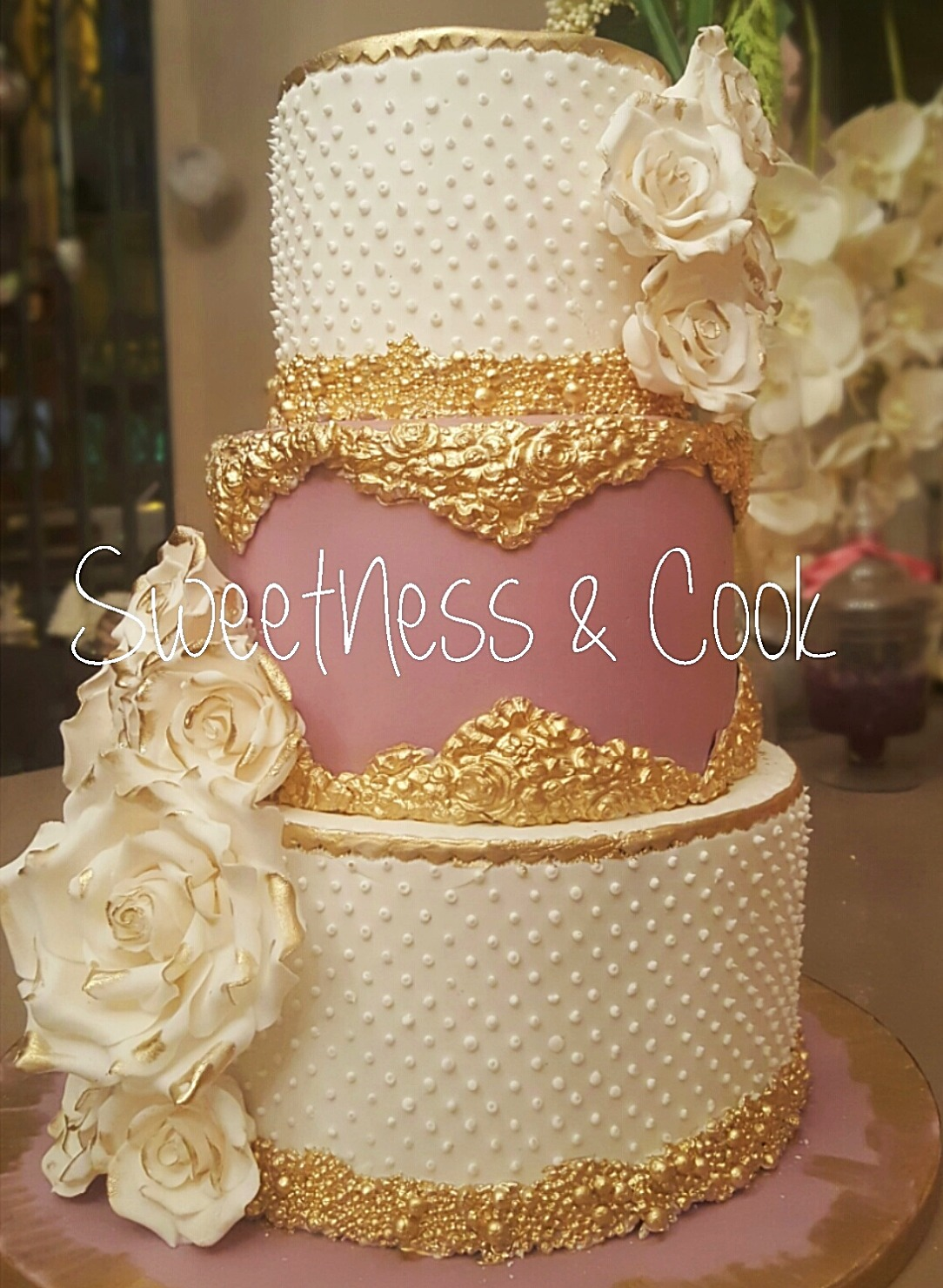Wedding Cake Beau Rivage