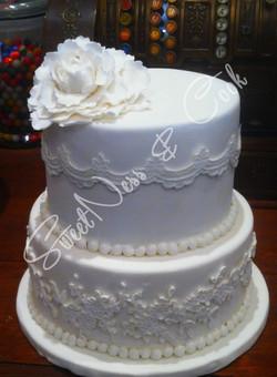 Wedding Cake Pretty Simple