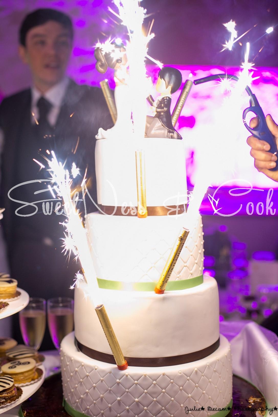 Wedding Cake Chantilly
