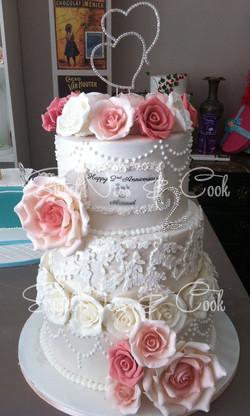 Wedding Cake noces de cuir