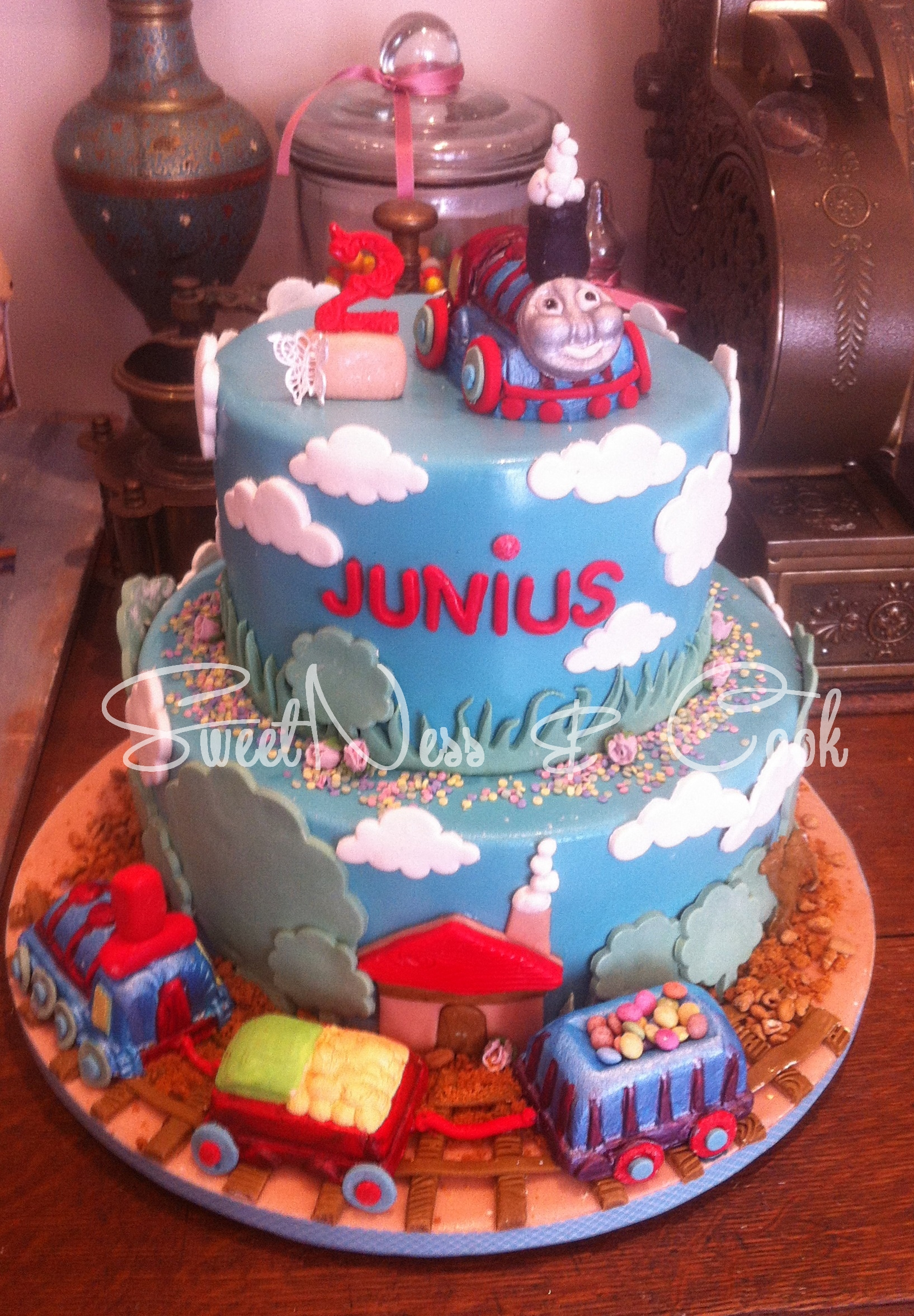 Cake Design Thomas le train