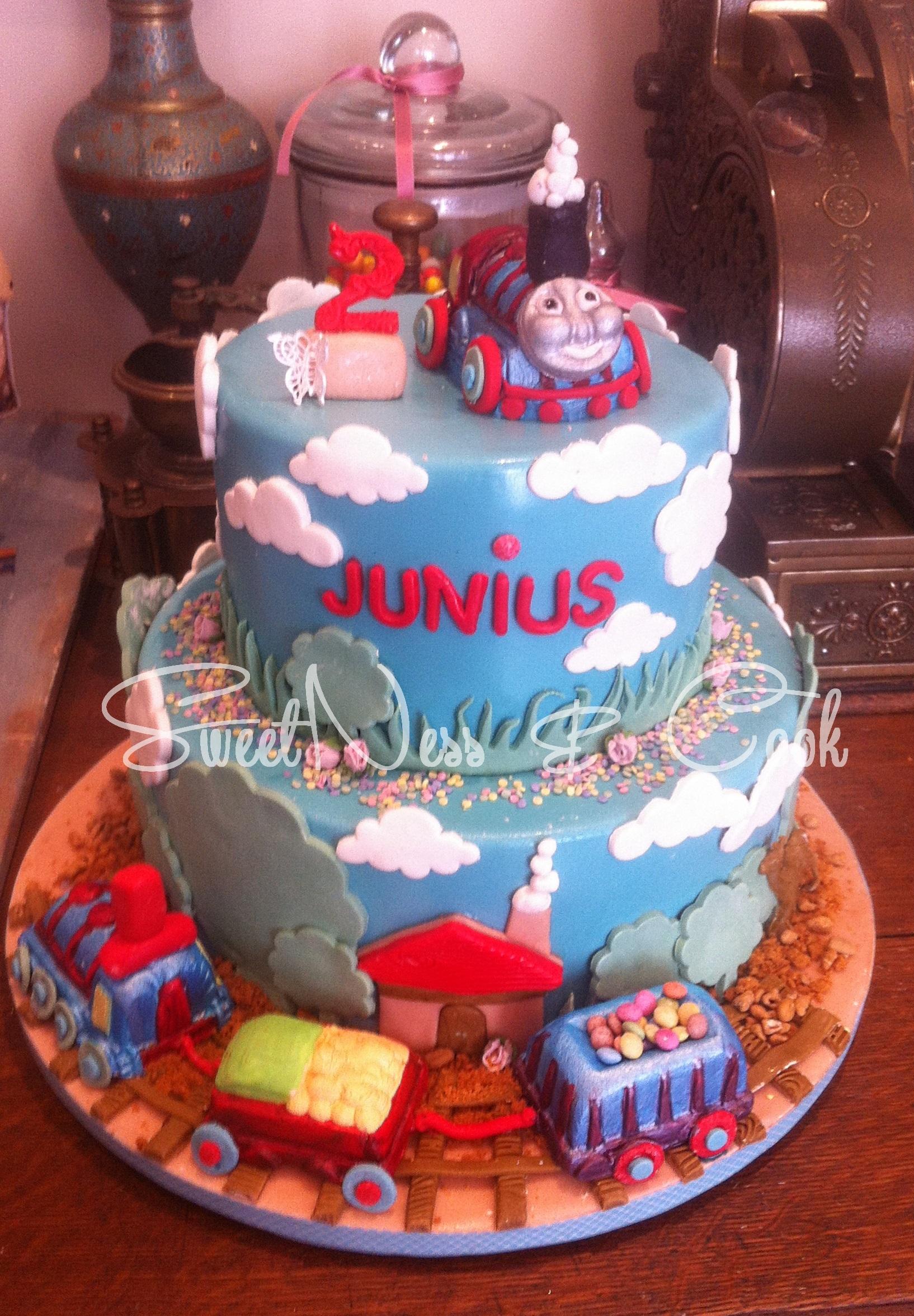 Cake Design Thomas le train