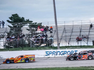 Rutherford Wins First Modified Feature at Springport