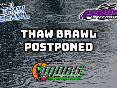 Thaw Brawl Postponed Due to Forecasted Rain