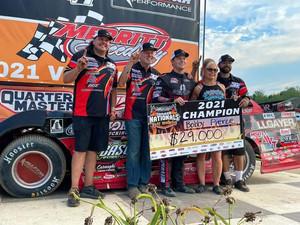 Pierce Crowned Hell Tour Champ; Ashton Winger Wins Summer Nationals Finale at Merritt Speedway