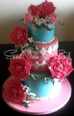 Wedding Cake bohème acte 2