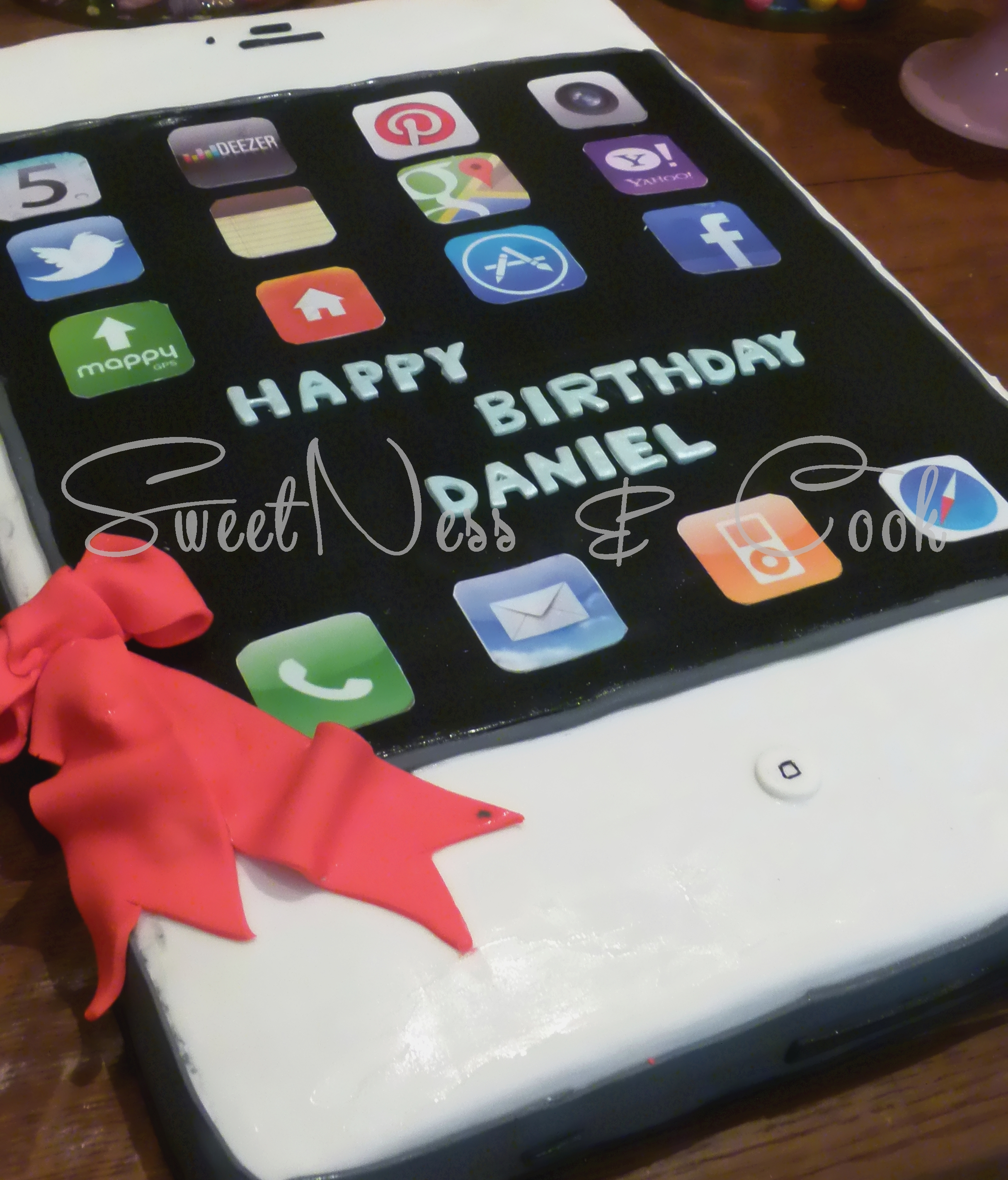 Cake Design Iphone