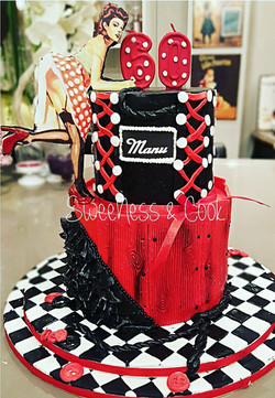 Cake Design Pin-up