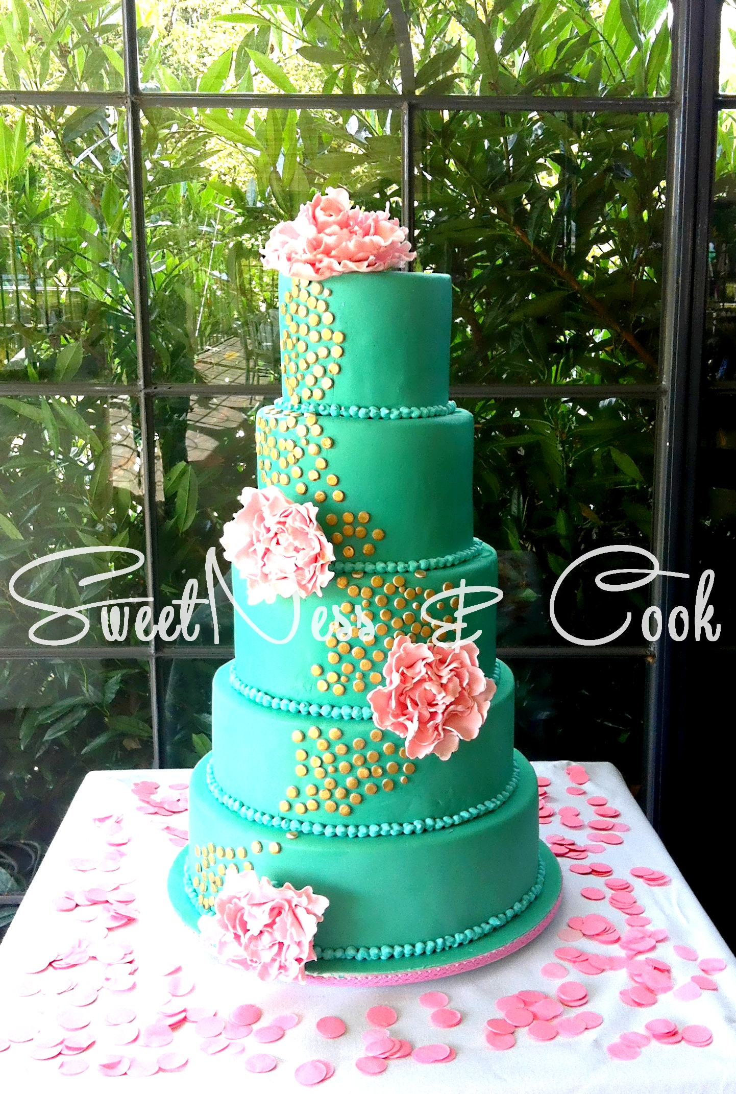 Wedding Cake Emeraude