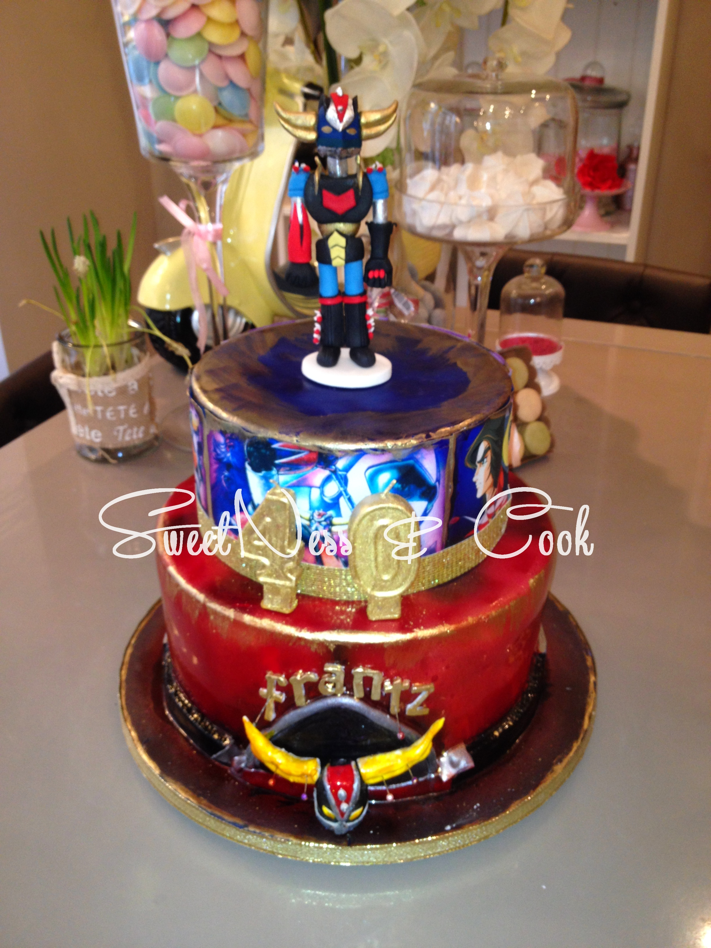 Cake Design Goldorak