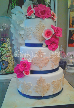 Wedding Cake Blue Jasmine