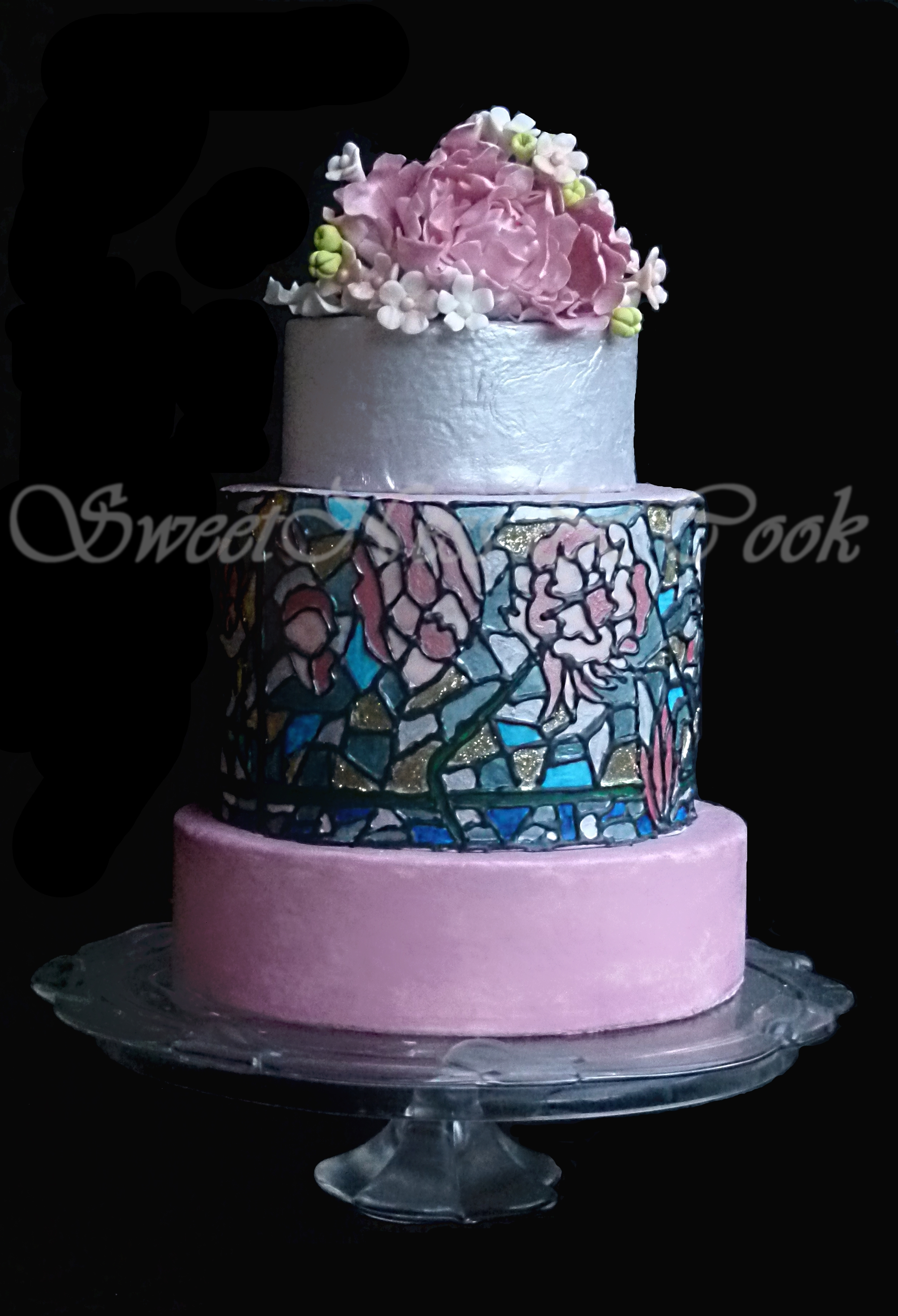 Wedding Cake Vitrail